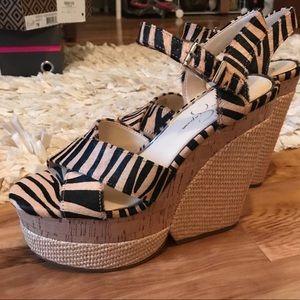 Jessica Simpson jirie platform sandals